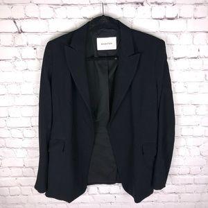Aritzia Babaton Open Front Black Blazer w Lapels 8